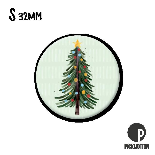"Kühlschrank-Magnet - Klein - ""Christmas tree"" - MSA 0467 - Pickmotion (Xmas)"