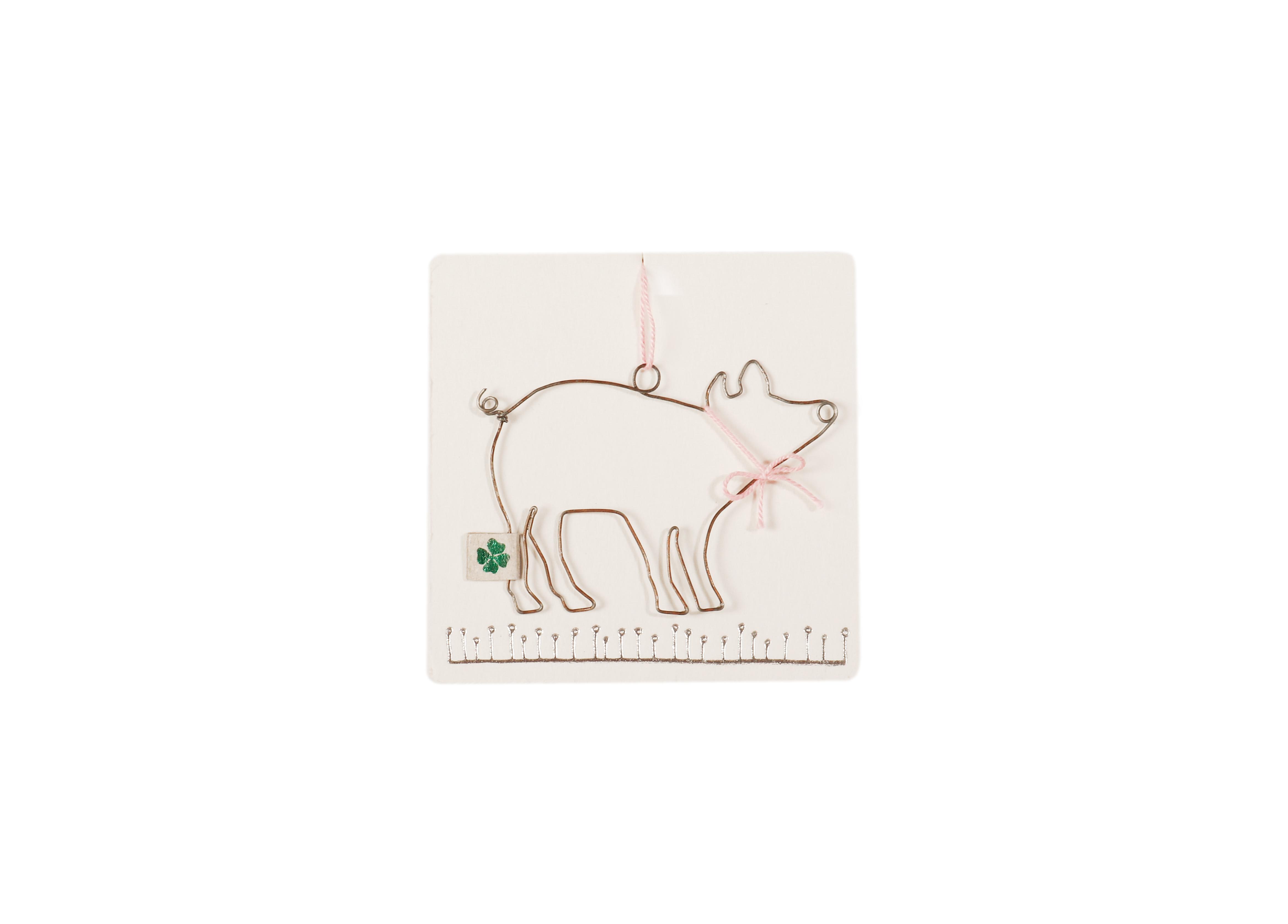 Drahtgrüße - Schwein - Good old friends