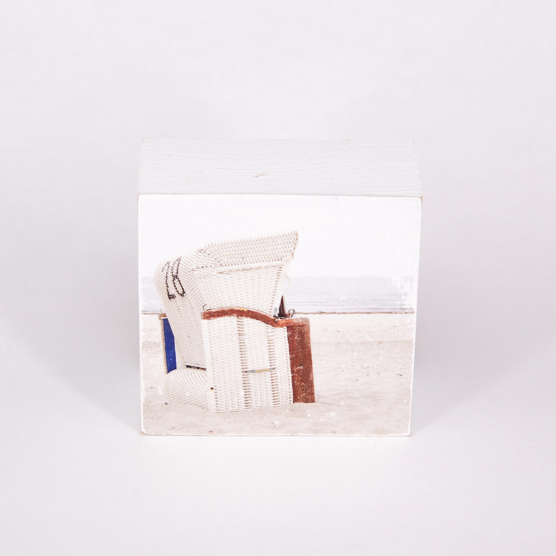 "Mini Fotoplatte - ""strandkorb 28"" - iopla"