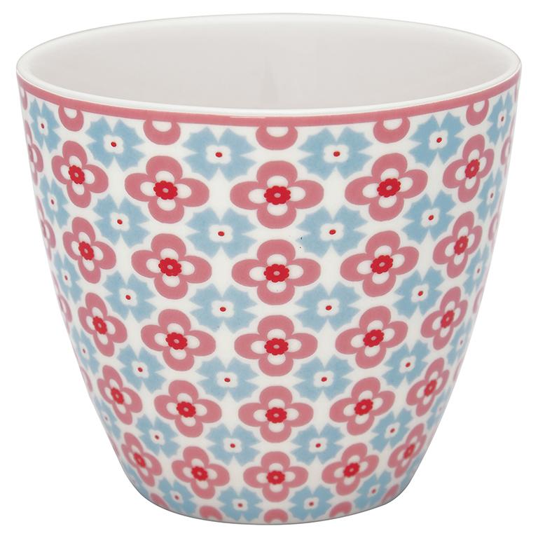 Latte Cup - Cordelia white - Greengate