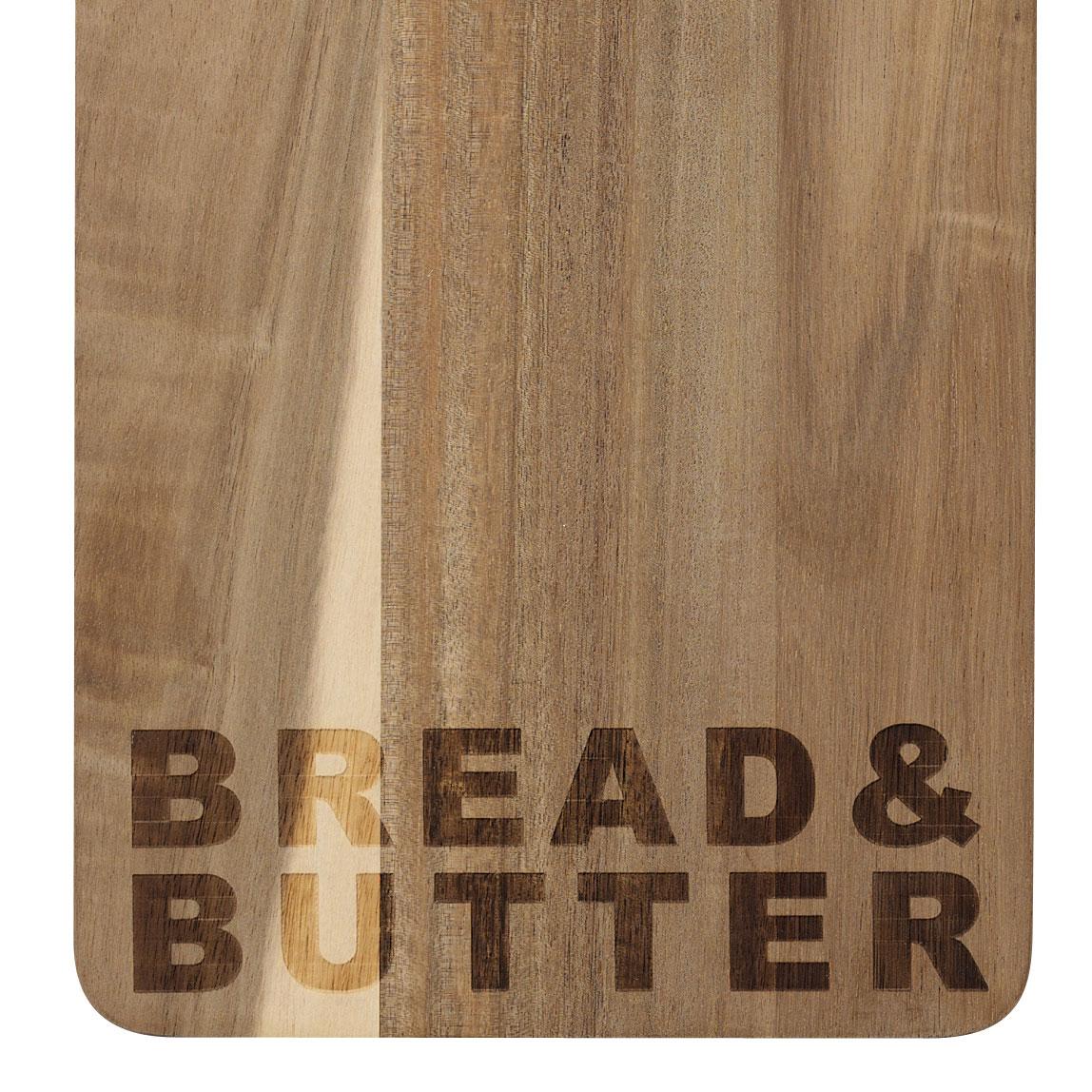 """Schneidebrett Bread and Butter """"groß"""" - räder"""