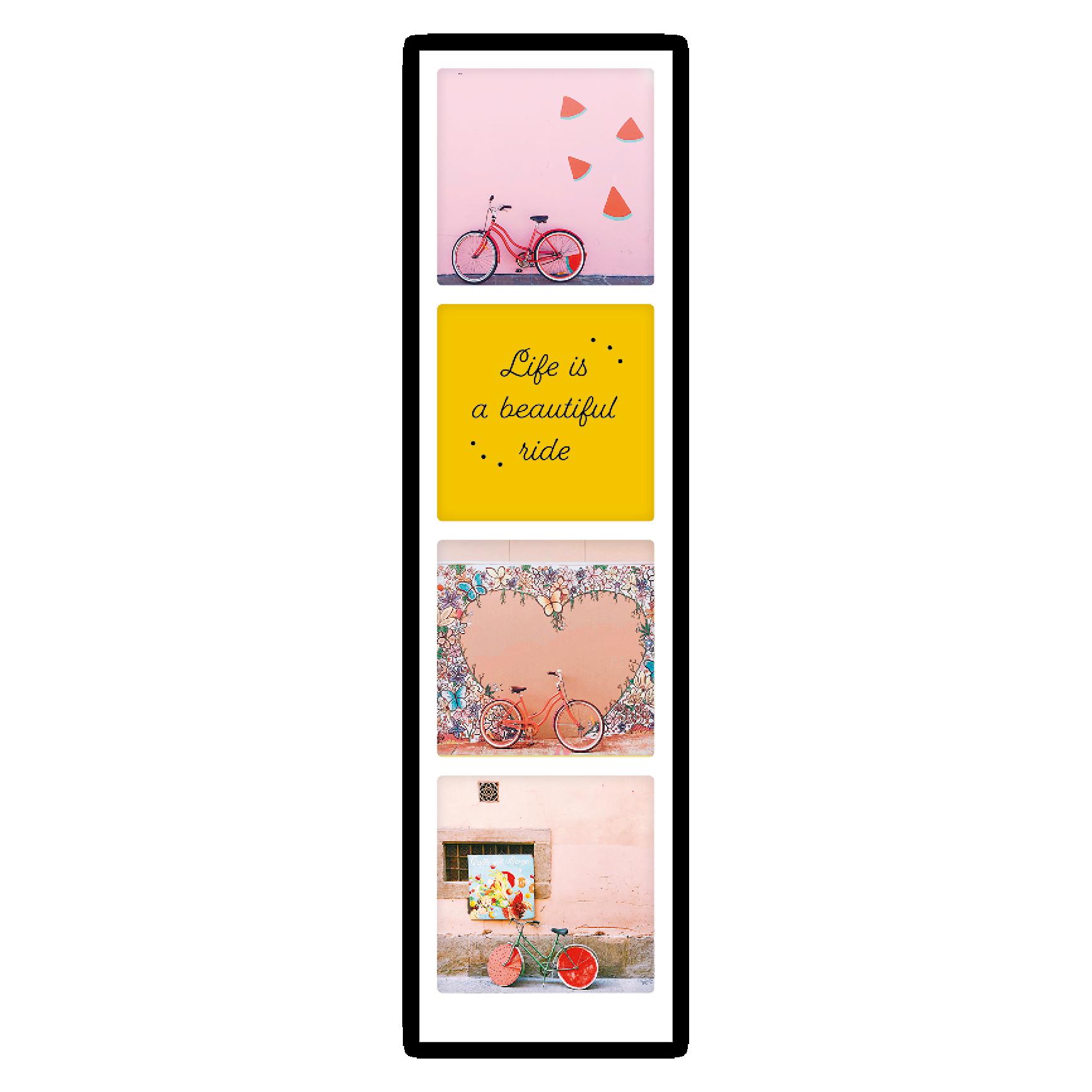 "Fotostreifen | Lesezeichen - ""Beautiful ride"" - PS 0201 - DE - Pickmotion"