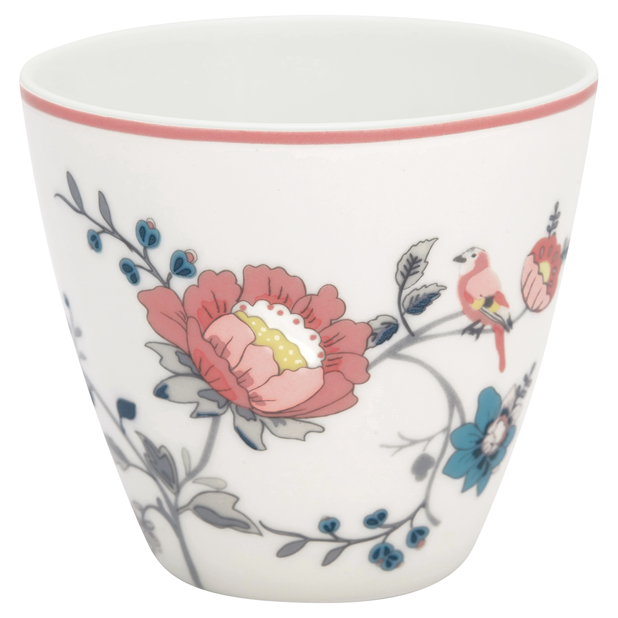 Latte Cup - Sienna white - Greengate