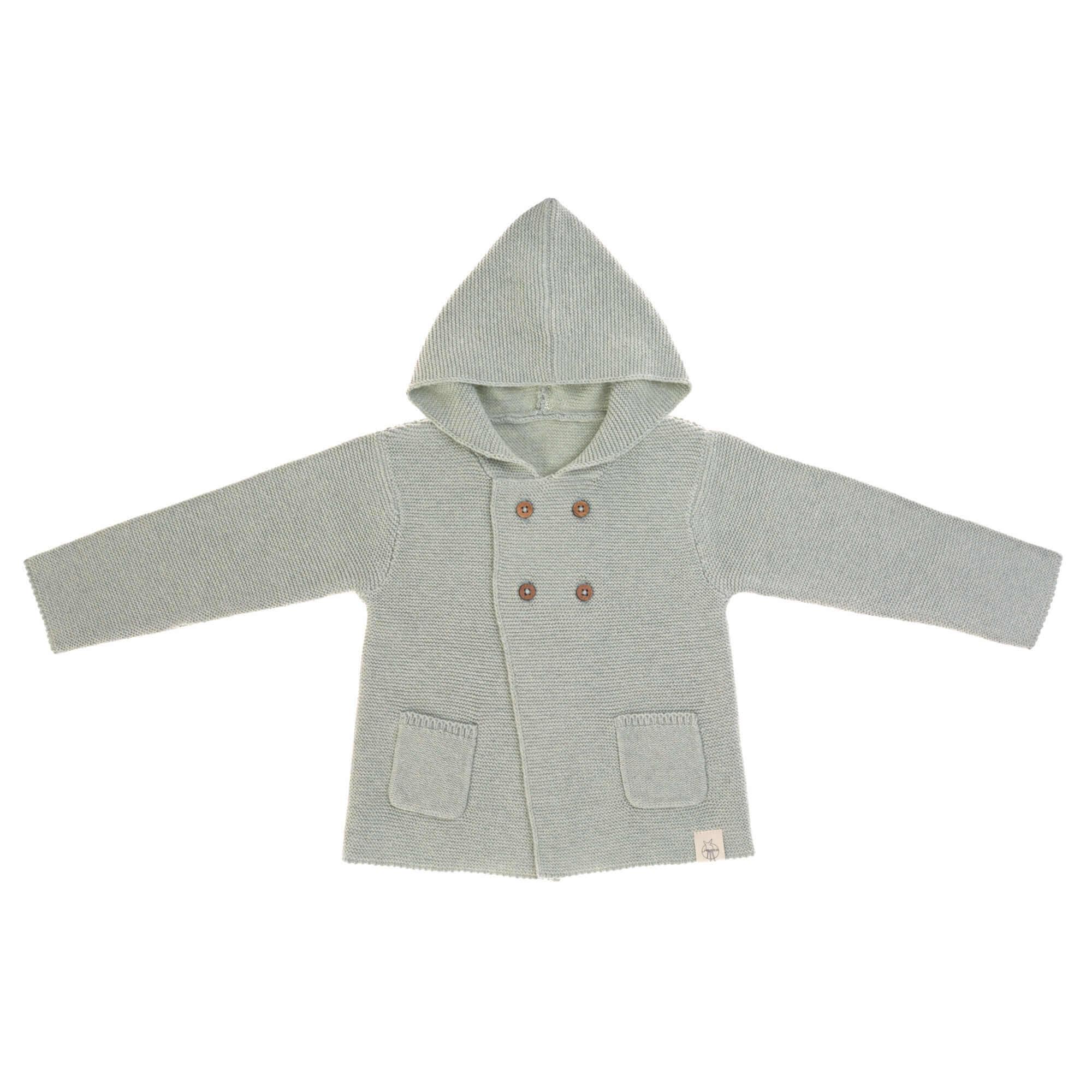 Baby Jacke - Garden Explorer Aqua Grey - Lässig