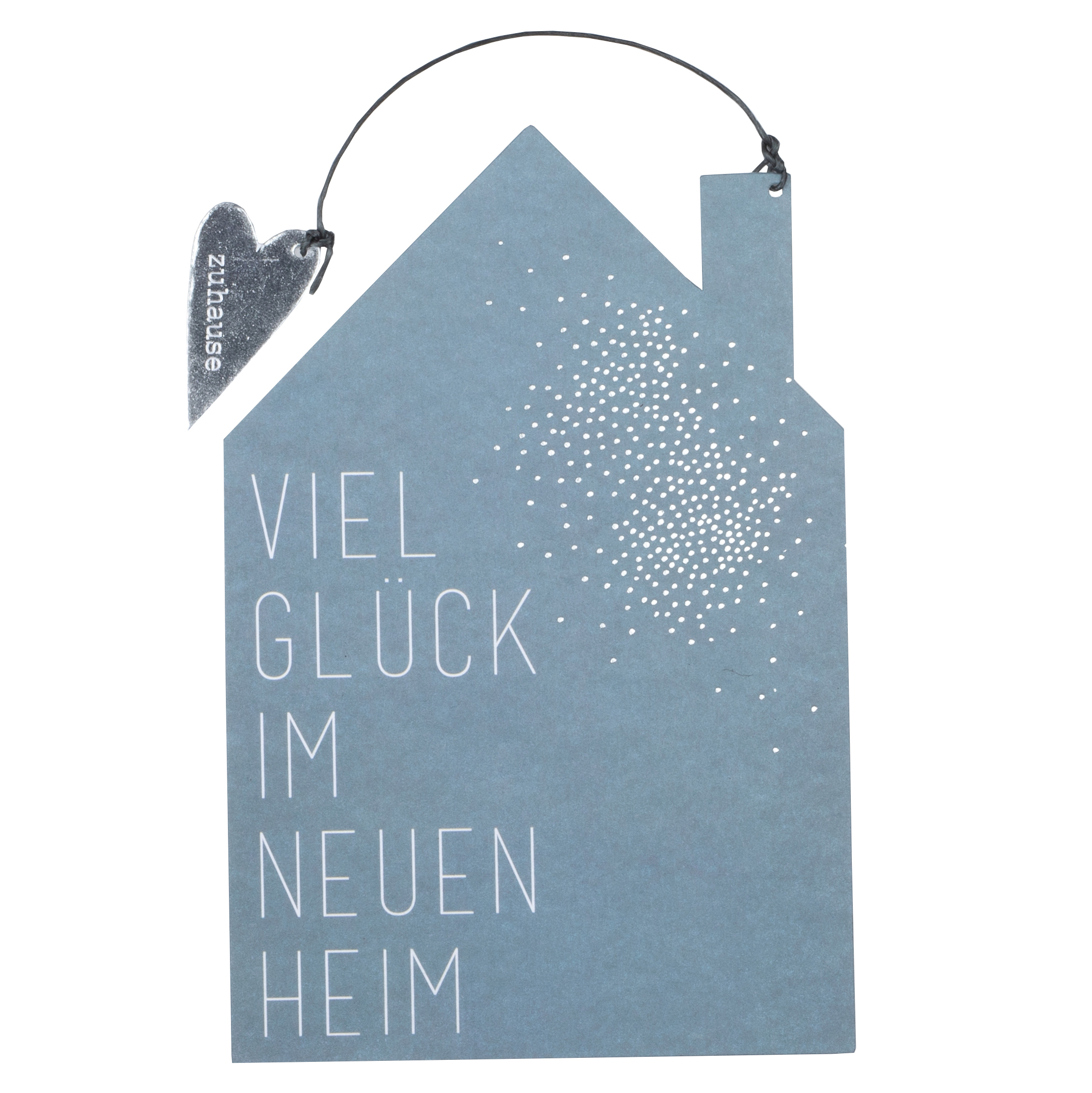 """Formkarte """"Haus, Viel Glück im neuen Haus"""" - räder"""