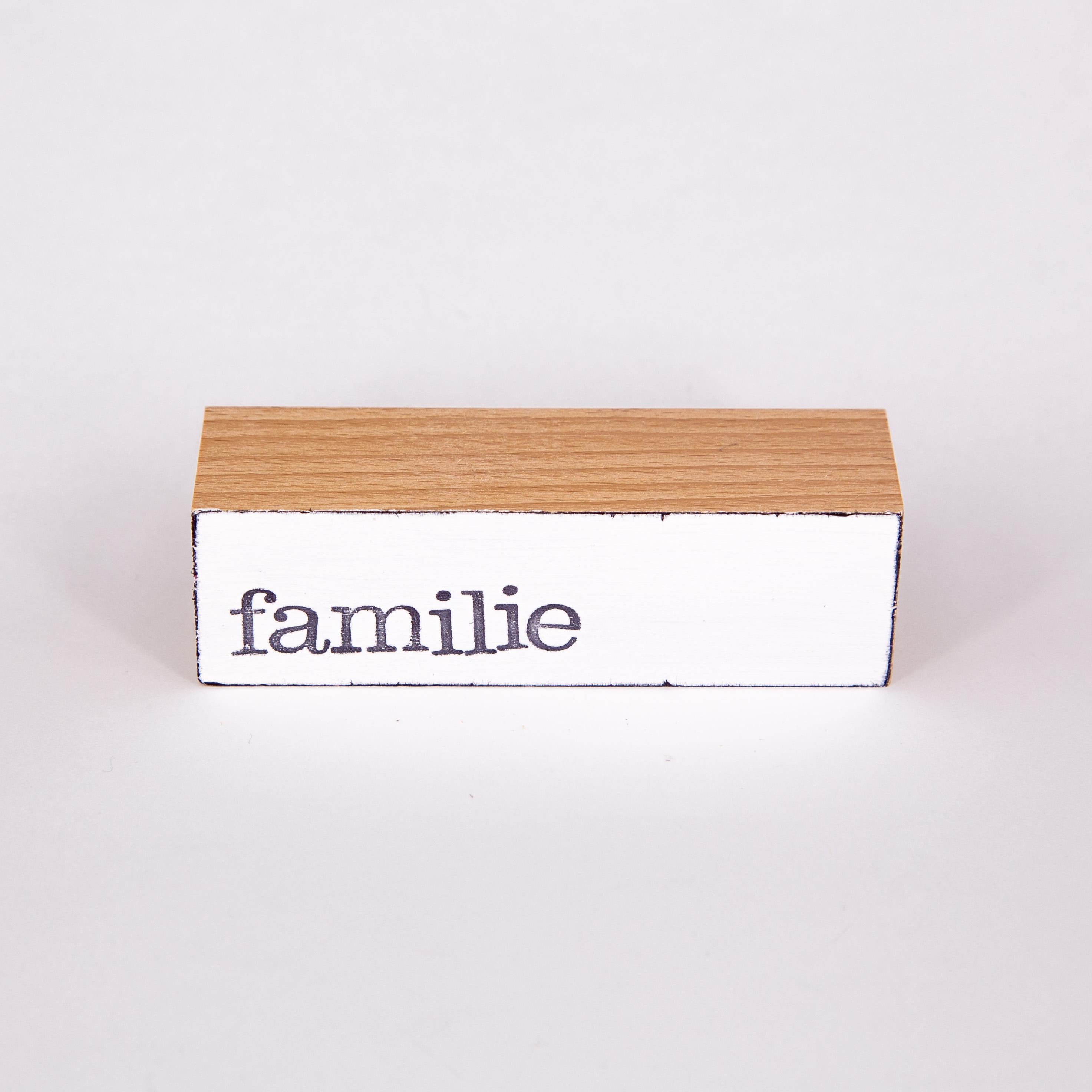 "Baustein - ""familie"" - iopla"