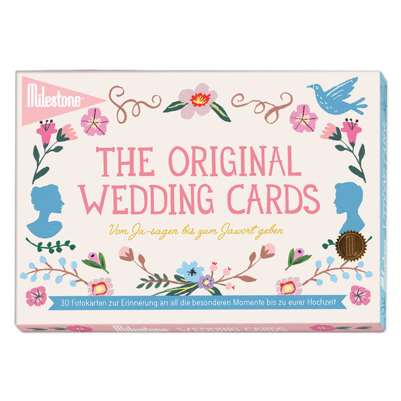 The Original Wedding Cards - Milestone