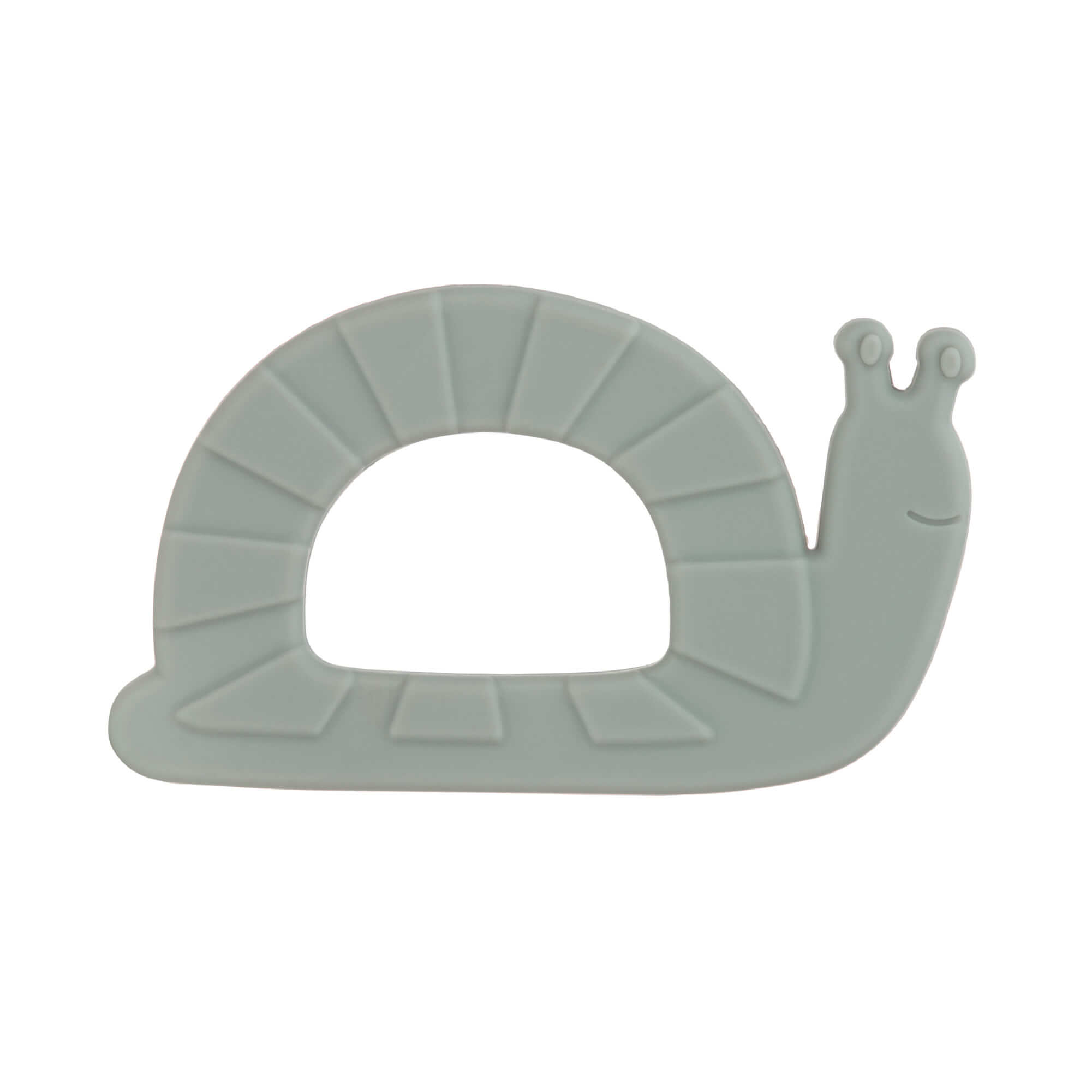 Baby Silikon-Beißring - Garden Explorer Snail - Lässig