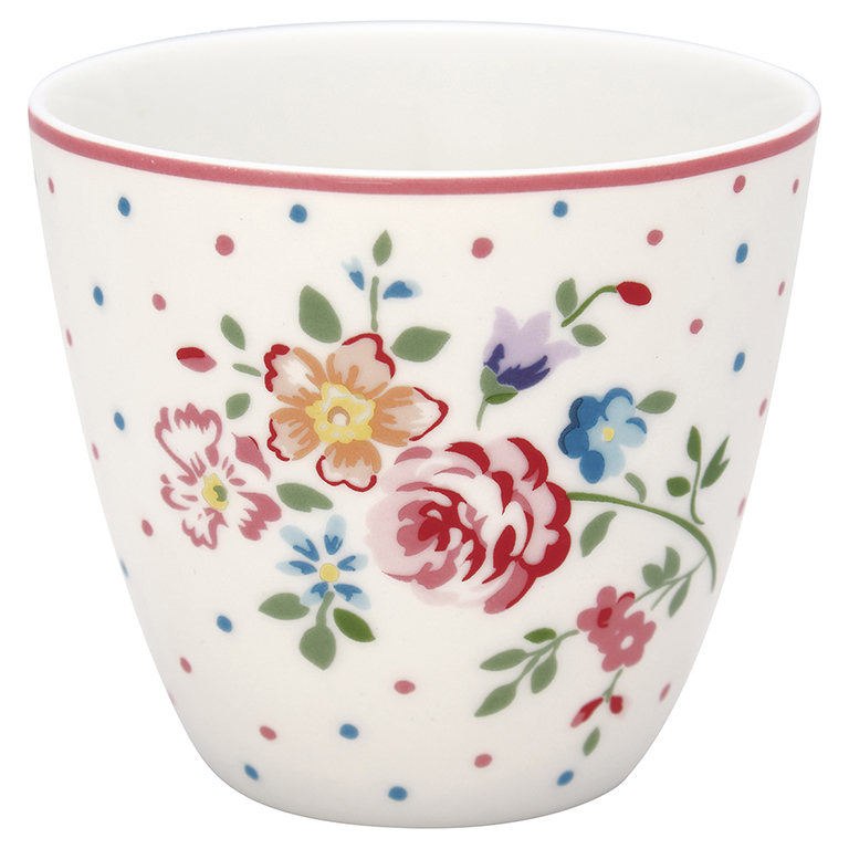 Latte Cup - Belle white - Greengate