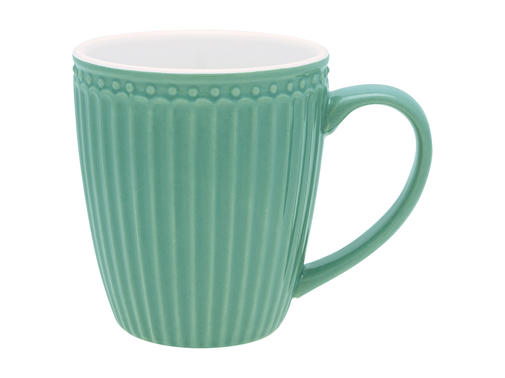 Becher mit Henkel - Alice dusty green - Greengate