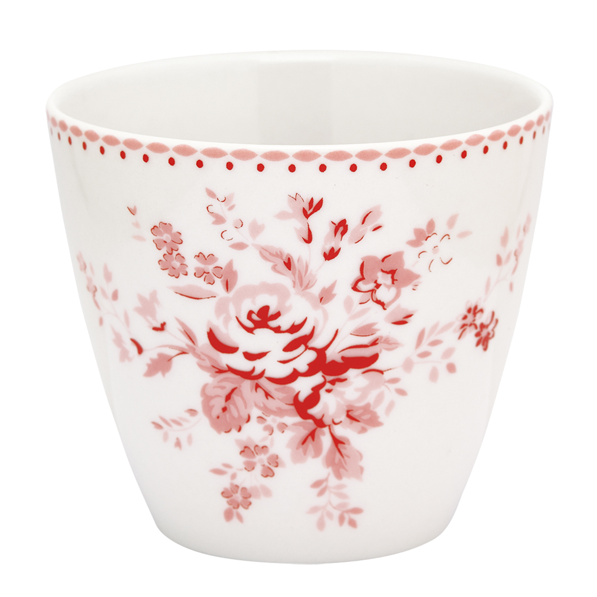 Latte Cup - Abelone raspberry - Greengate