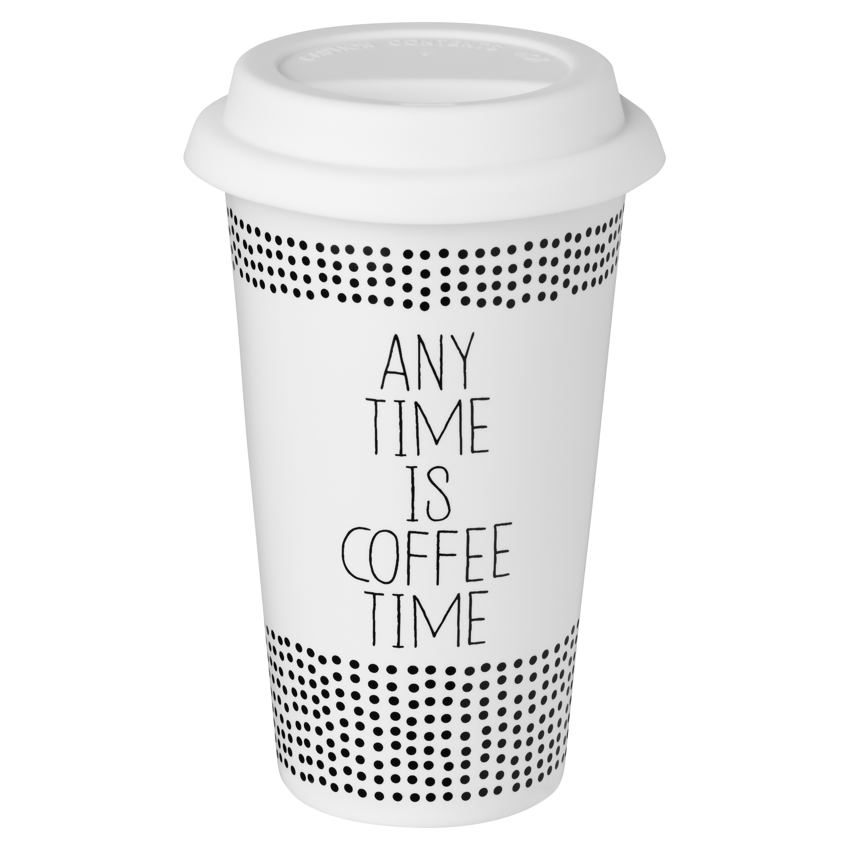 "Thermobecher ""Any time is coffee time"" - räder"