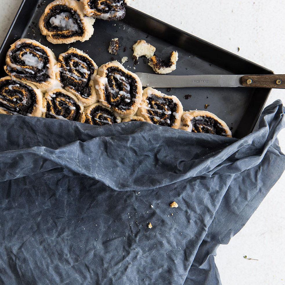 Bienenwachstuch XL Extragross - blau - Toff & Zürpel