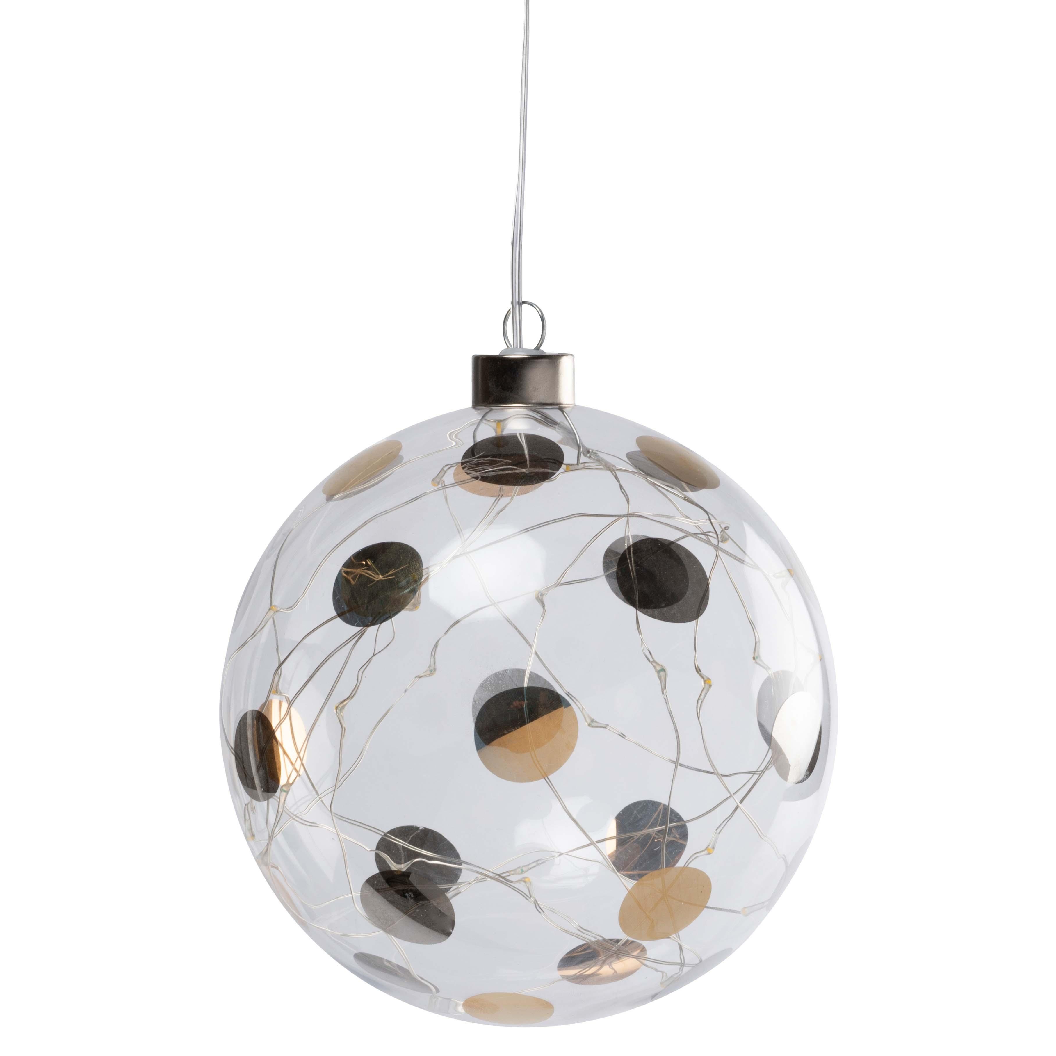 "Lichtkugel LED ""groß, Punkte"" - räder (Xmas)"