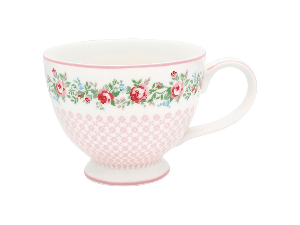 Teetasse mit Henkel - Gabby white - Greengate
