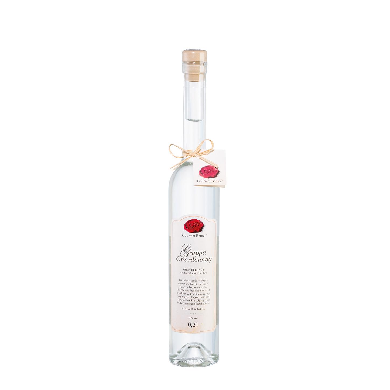 Grappa di Chardonnay 40% vol. - 0,2l - Gourmet Berner