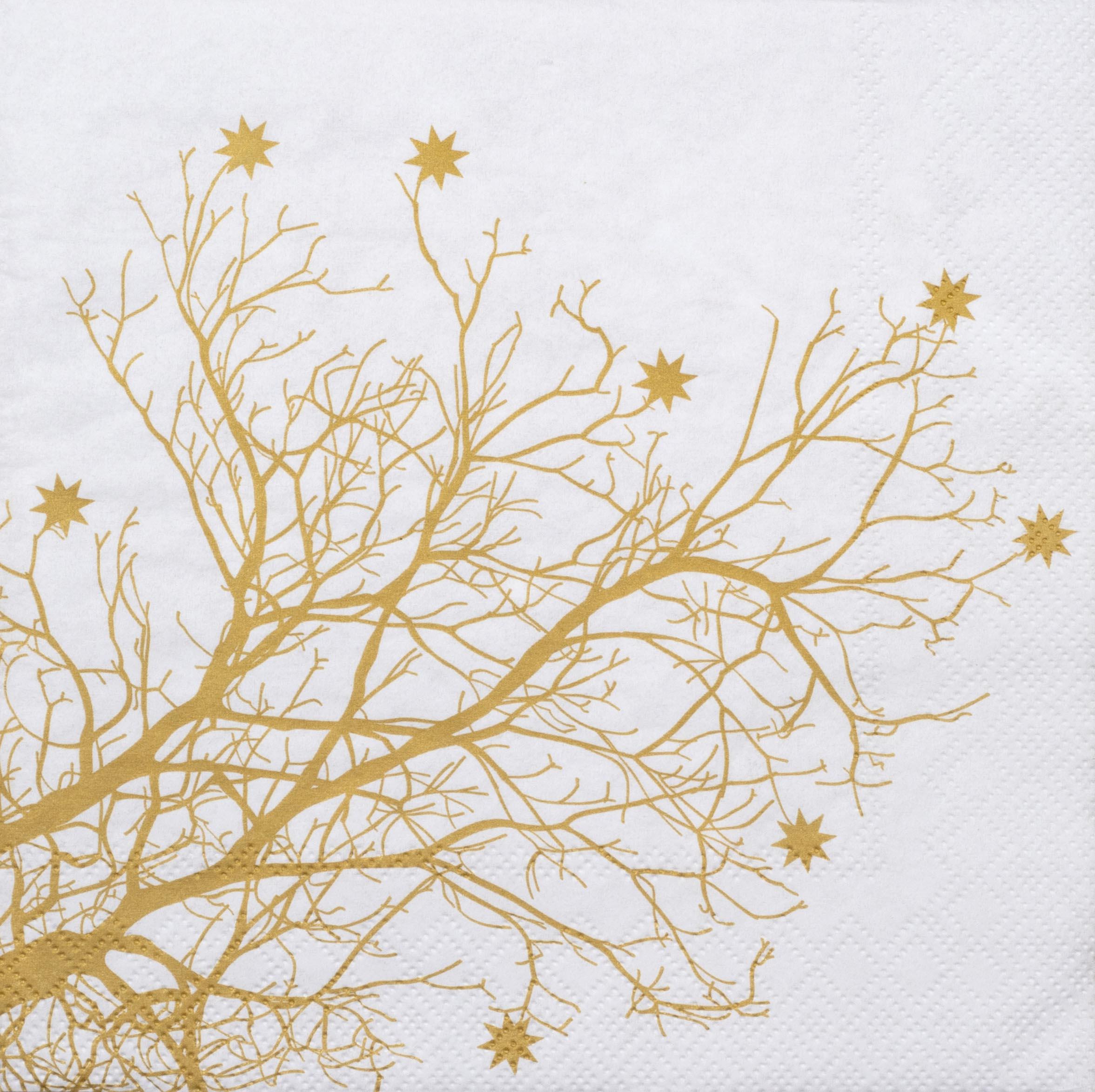 "Papierservietten ""Baum"" - räder (Xmas)"