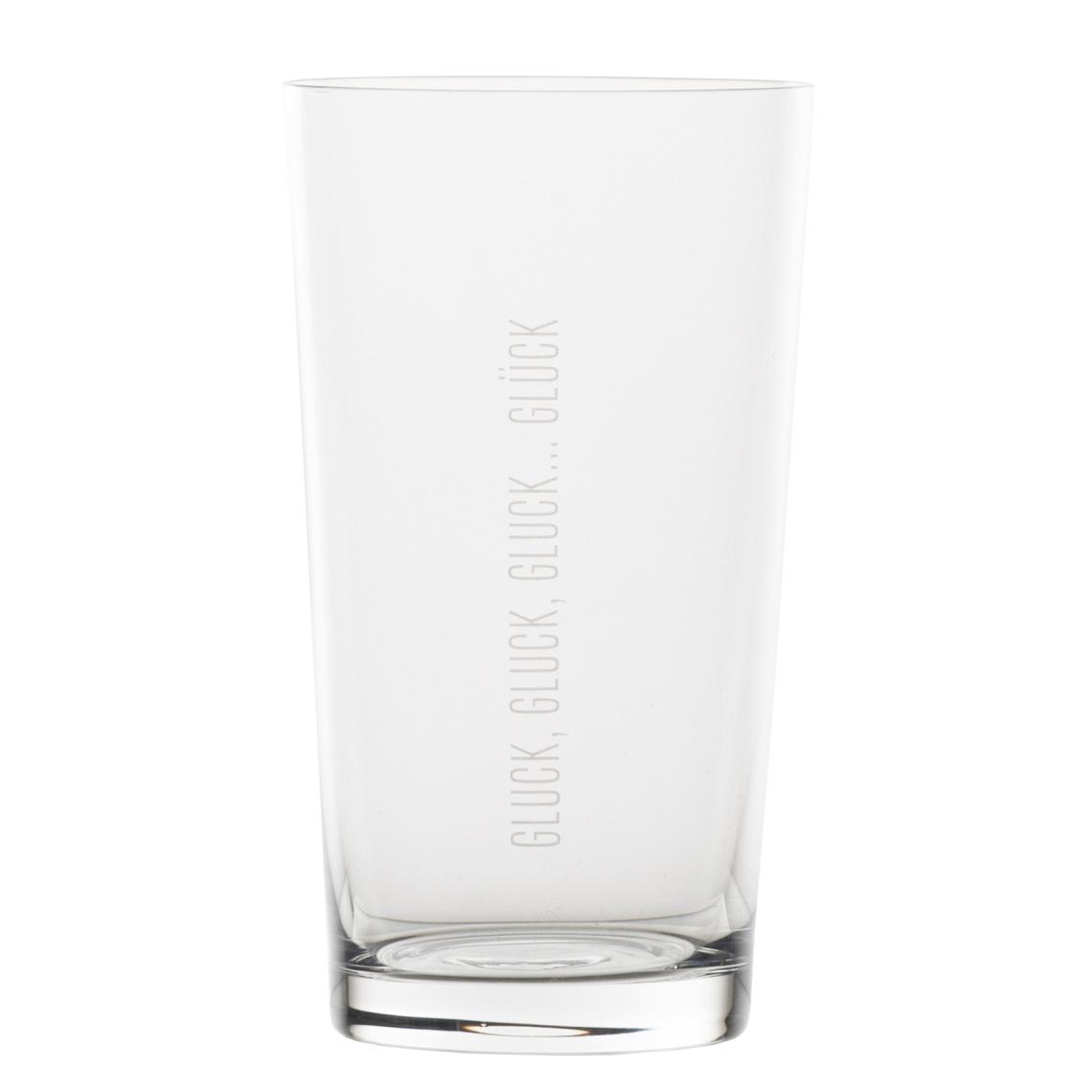 """Wasserglas - """"Glück"""" - räder"""
