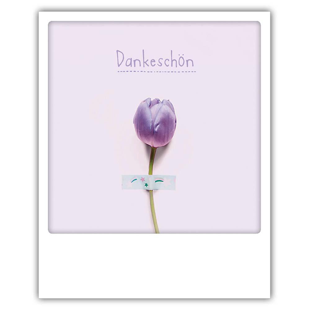 "Photo-Postkarte ""Dankeschön"" - ZG 0644 - DE - Pickmotion"