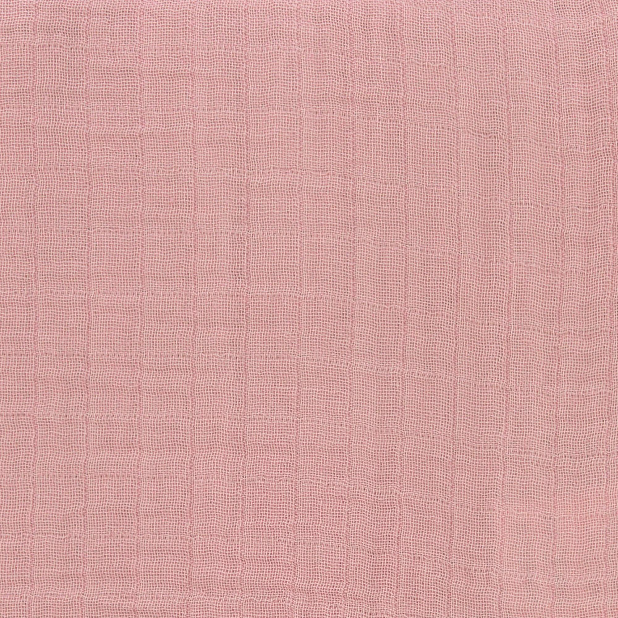 Stillschal Musselin - Rose - Lässig