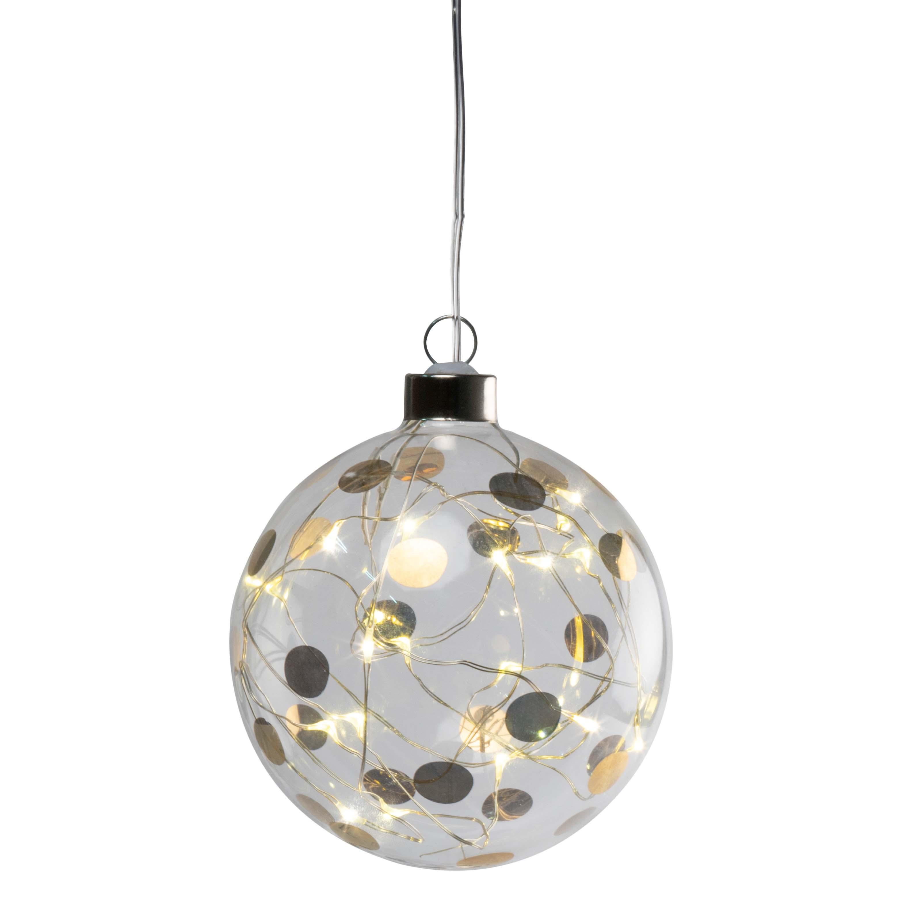 """LED Lichtkugel - """"klein, Punkte"""" - räder (Xmas)"""