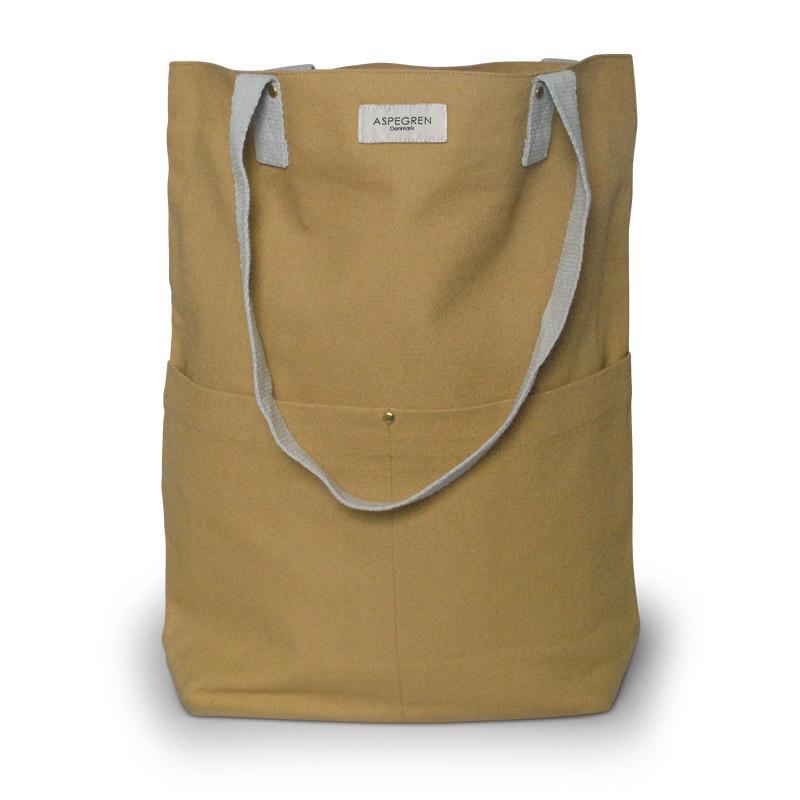 Einkaufstasche - Canvas Design Mano Mustard - Aspegren