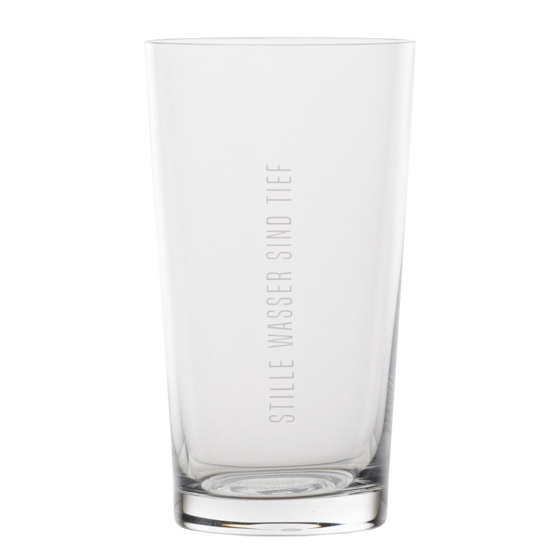 """Wasserglas - """"Stille Wasser sind tief"""" - räder"""