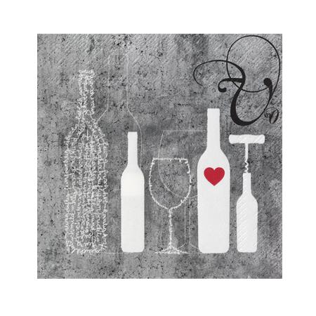 Poesie et Table Vino Weinserviette