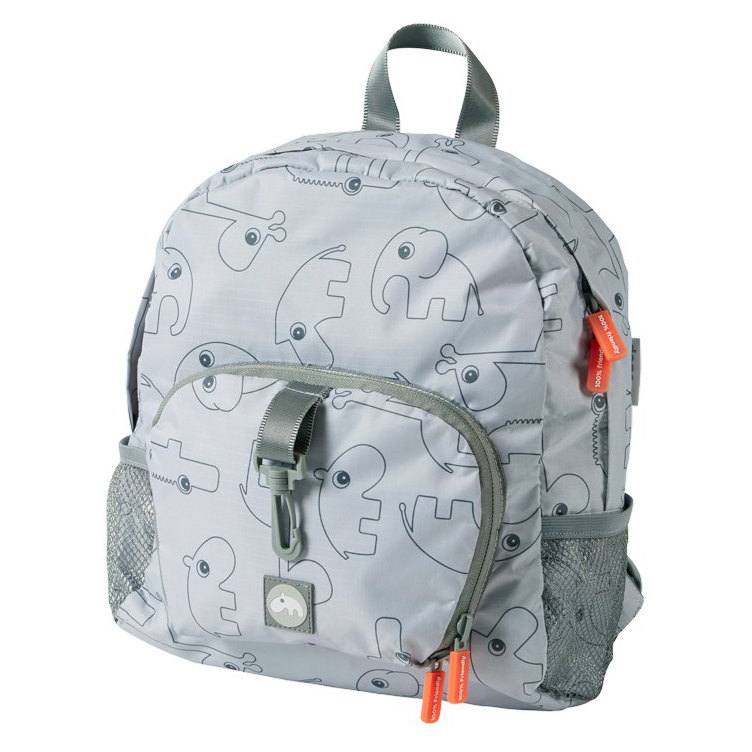 Kinderrucksack grau - Backpack - Contour - 10 L - grey - Done by Deer