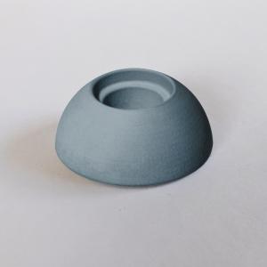 Kerzenhalter blau aus Kera-Guss - Wünschelicht