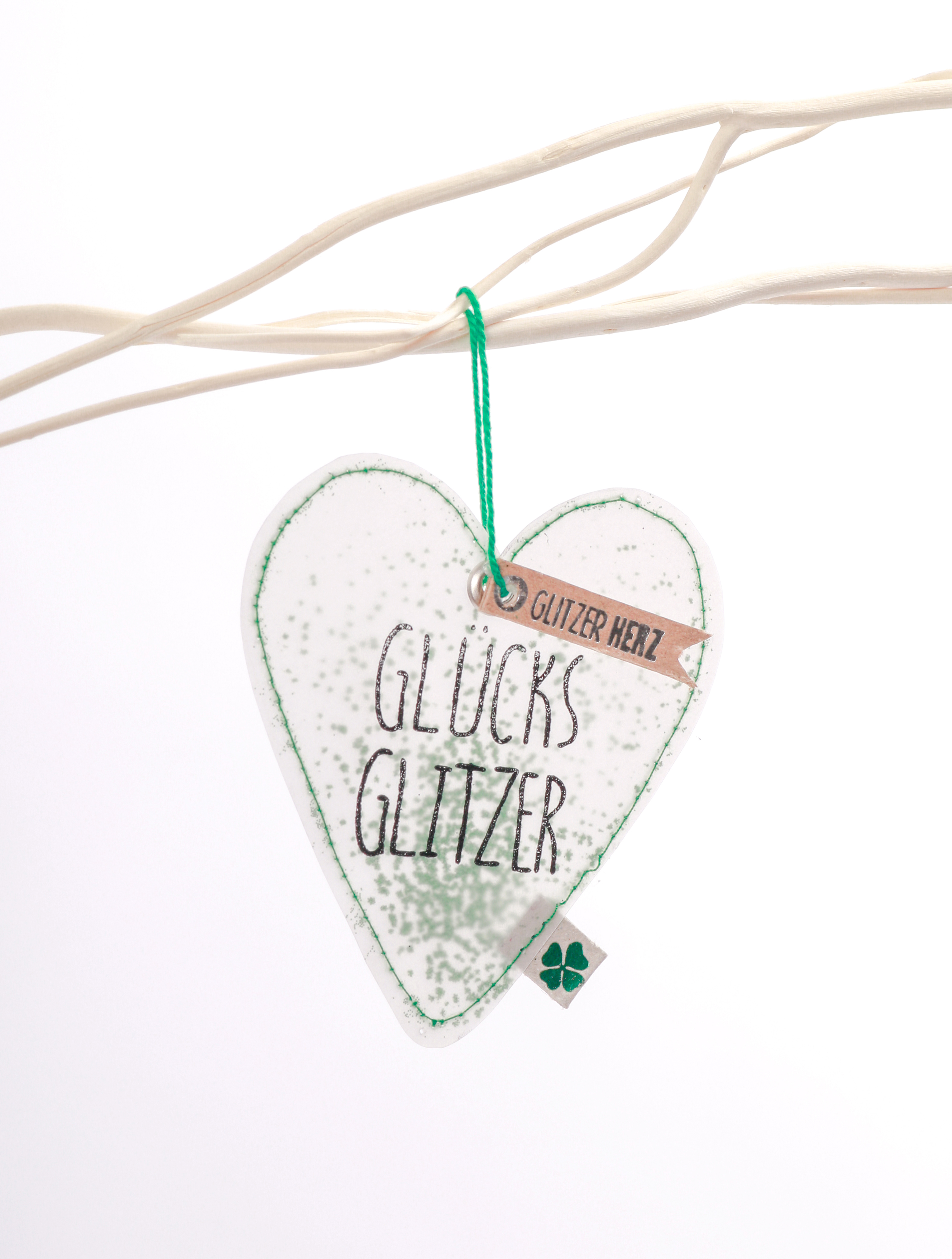 Glitzerherzen - Glücksglitzer - Good old friends