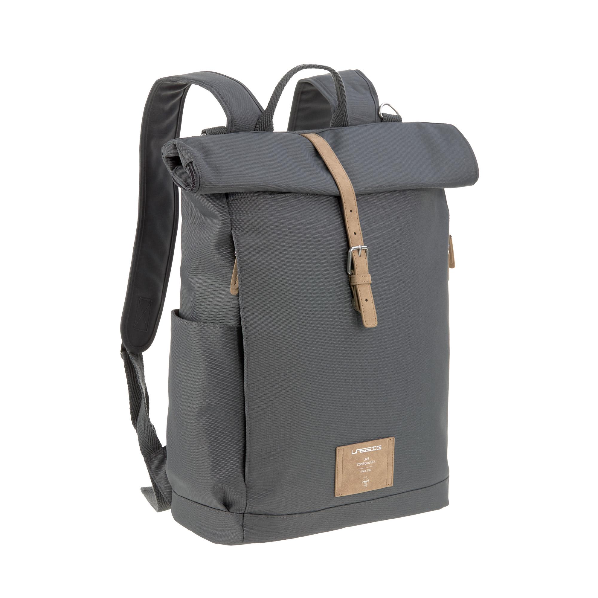 Wickelrucksack - Rolltop Backpack - Anthrazit - Lässig