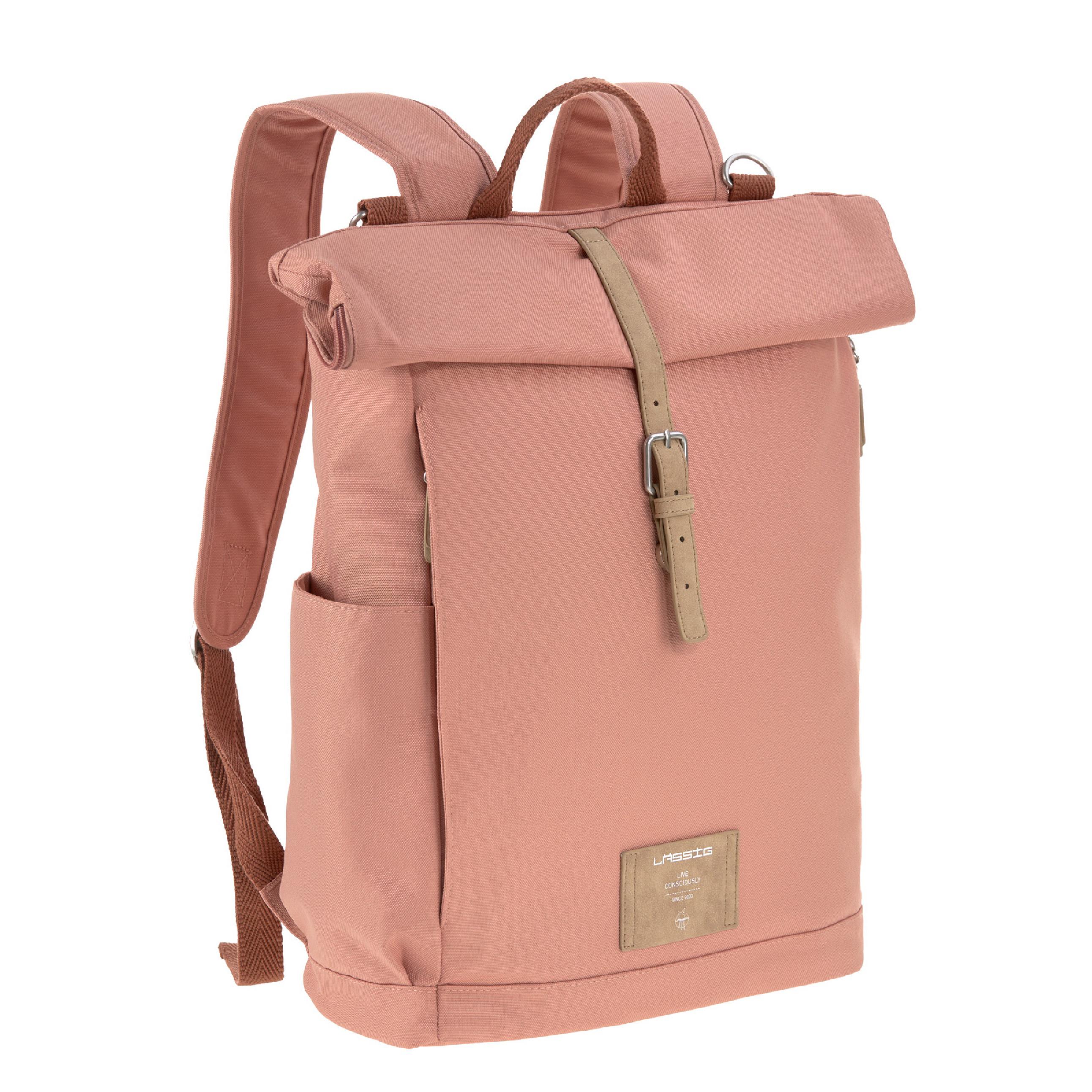 Wickelrucksack - Rolltop Backpack - Cinnamon - Lässig