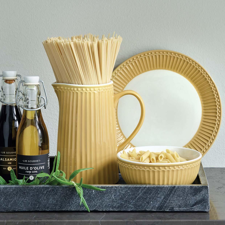 Becher mit Henkel - Alice honey mustard - Greengate