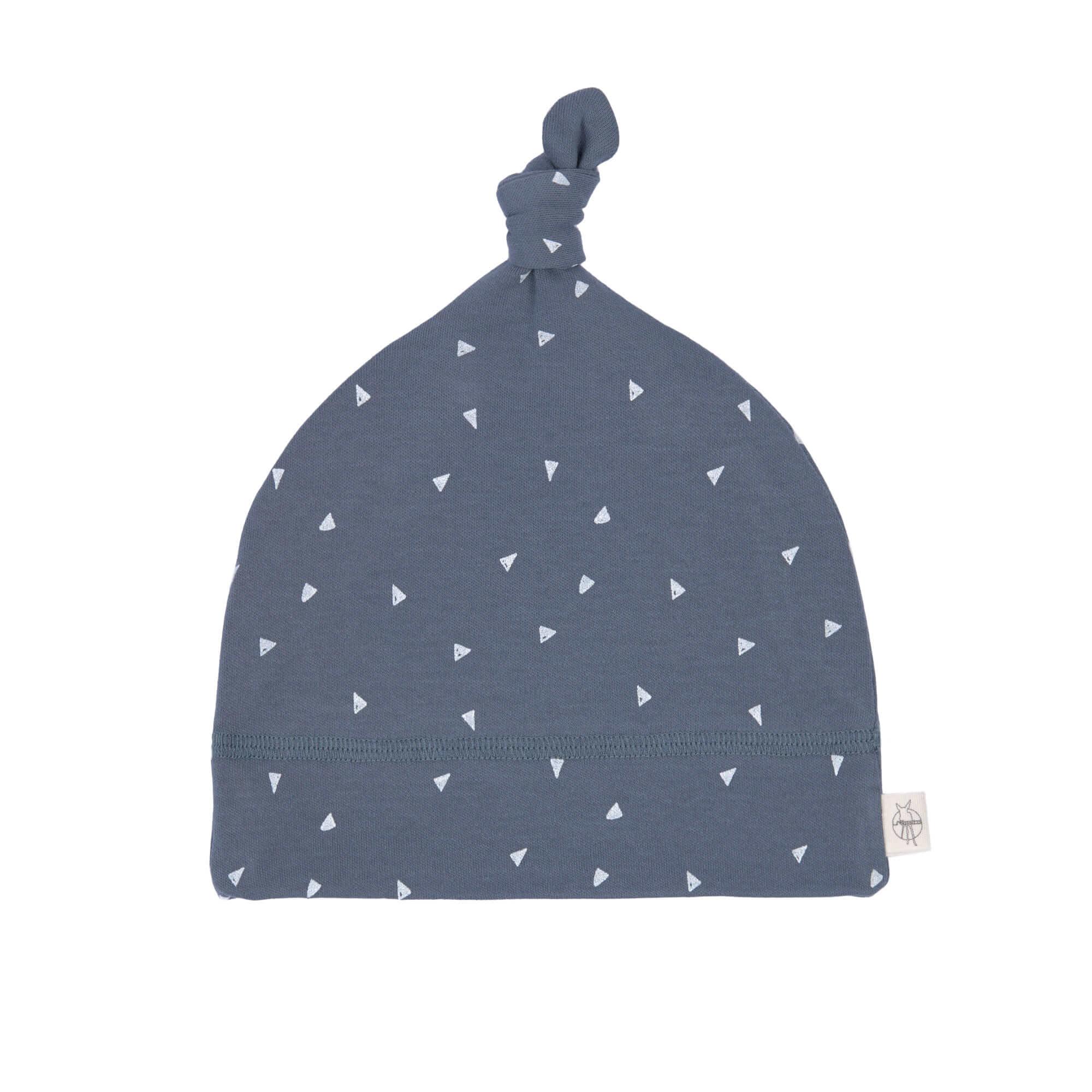 Babymütze - Beanie, Triangle Blue - Lässig