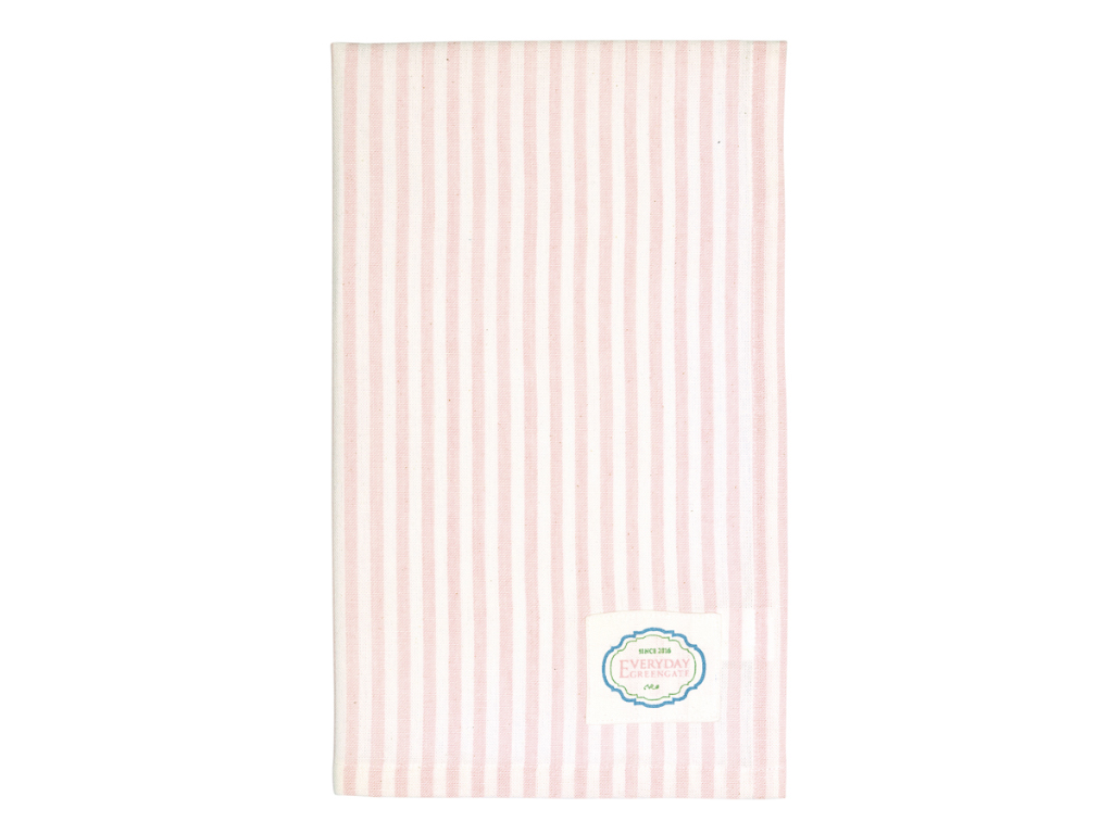 Geschirrtuch - Alice stripe pink - Greengate