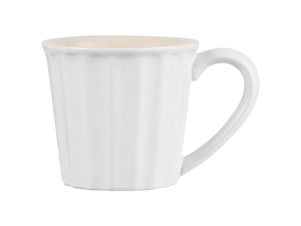 Becher mit Henkel - Mynte Pure White - IB Laursen