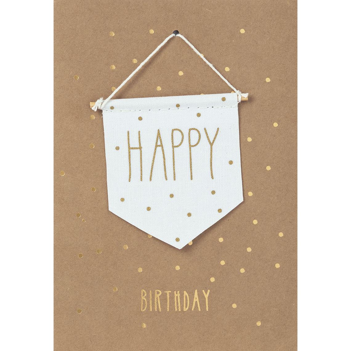"""Geburtstagskarte - """"Happy Birthday"""" - räder"""