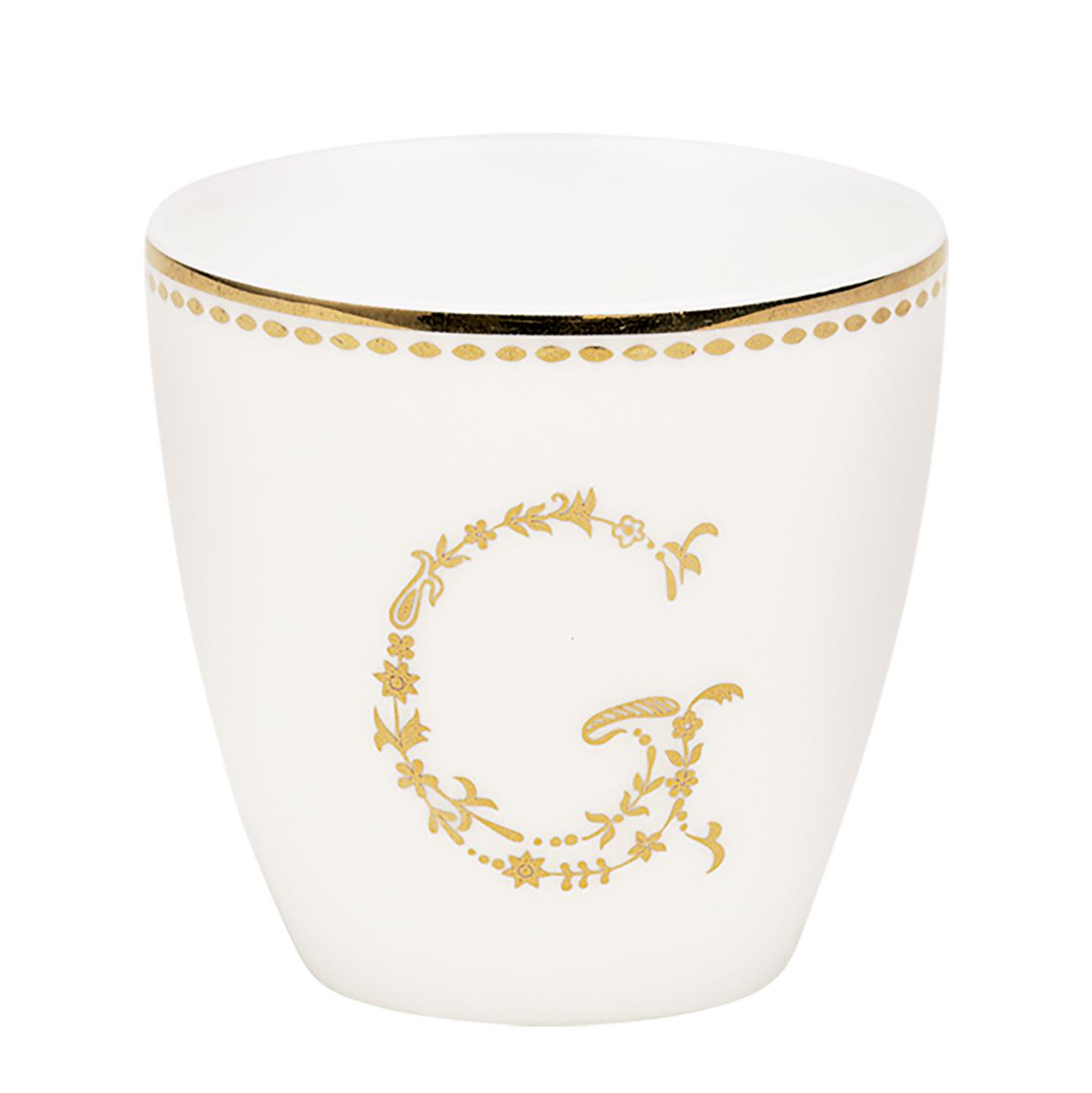 Espressotasse | Mini-Latte Cup - G gold - Greengate