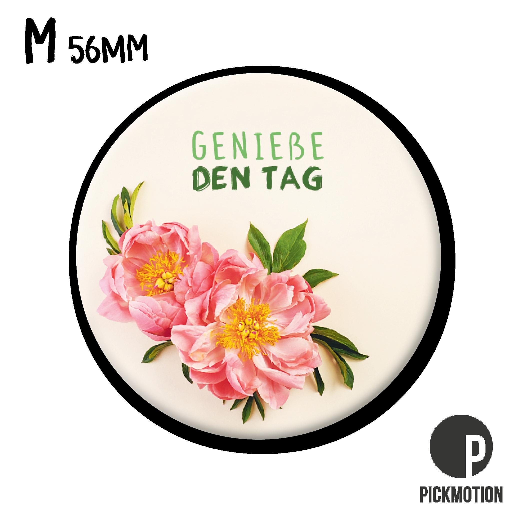 "Kühlschrank-Magnet - Medium - ""Genieße den Tag"" - MM 0867-DE - Pickmotion"