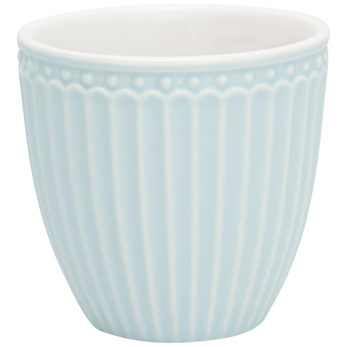 Espressotasse | Mini-Latte Cup - Alice pale blue - Greengate