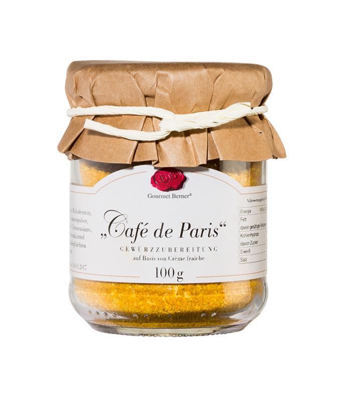 Café de Paris - 100g Glas - Gourmet Berner