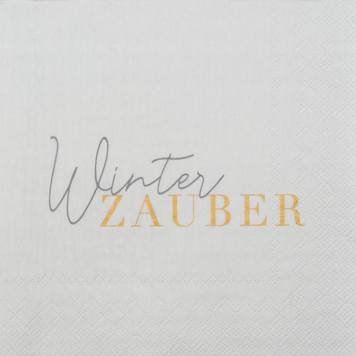 """Papierservietten """" Winterzauber"""" - räder"""