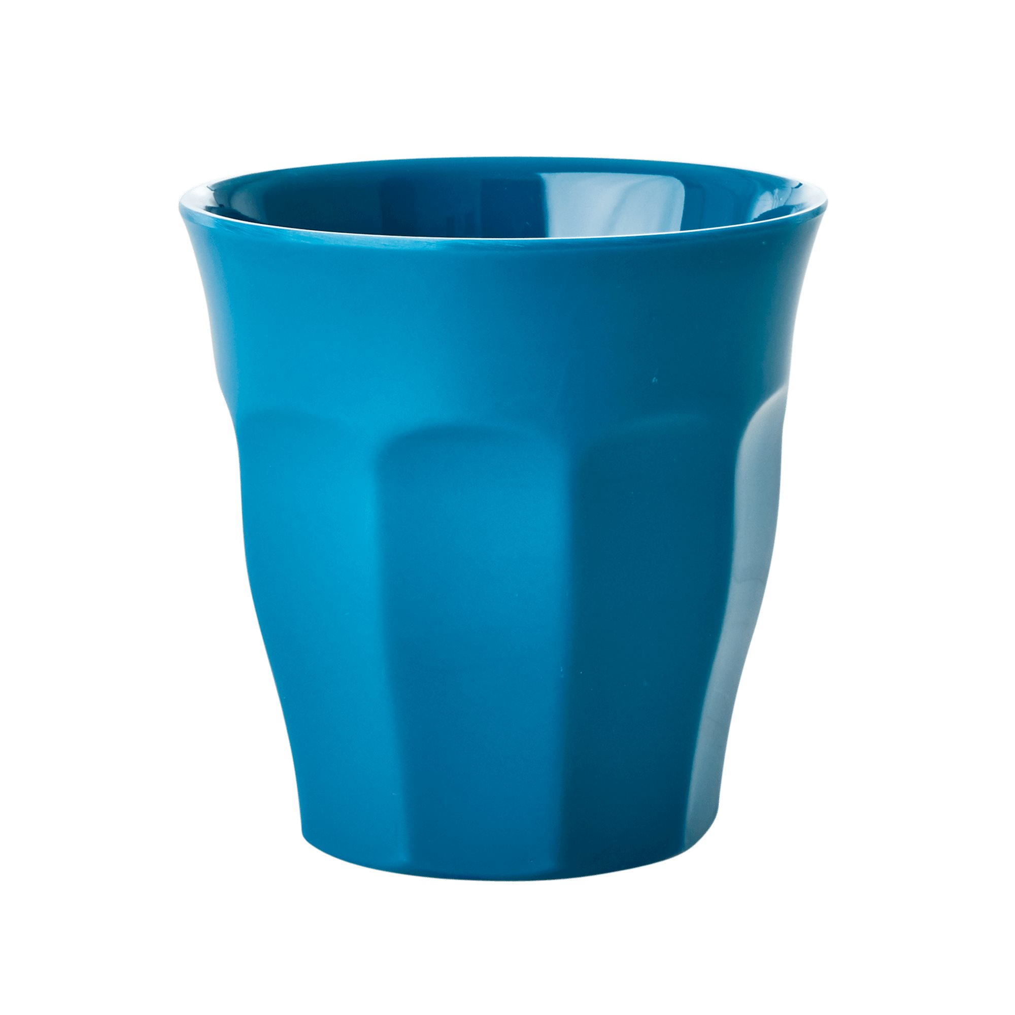 Medium Melamine Cup - Uni türkis - rice