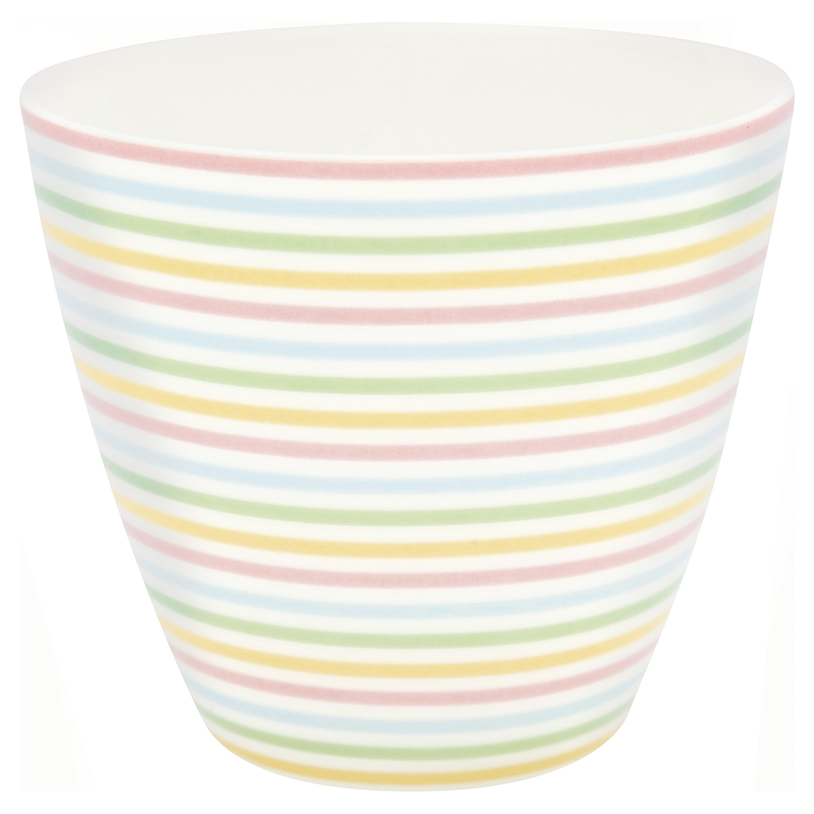 Latte Cup - Ansley white - Greengate