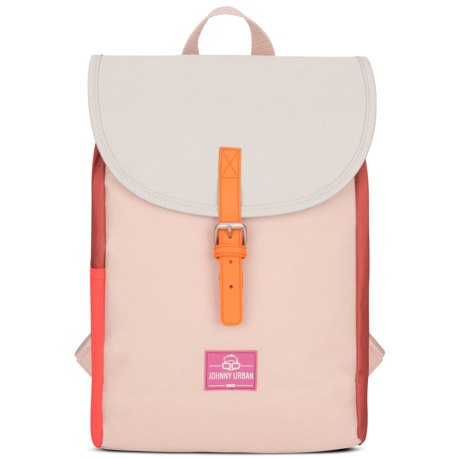 Kinderrucksack - Liam -  rot multi - Johnny Urban