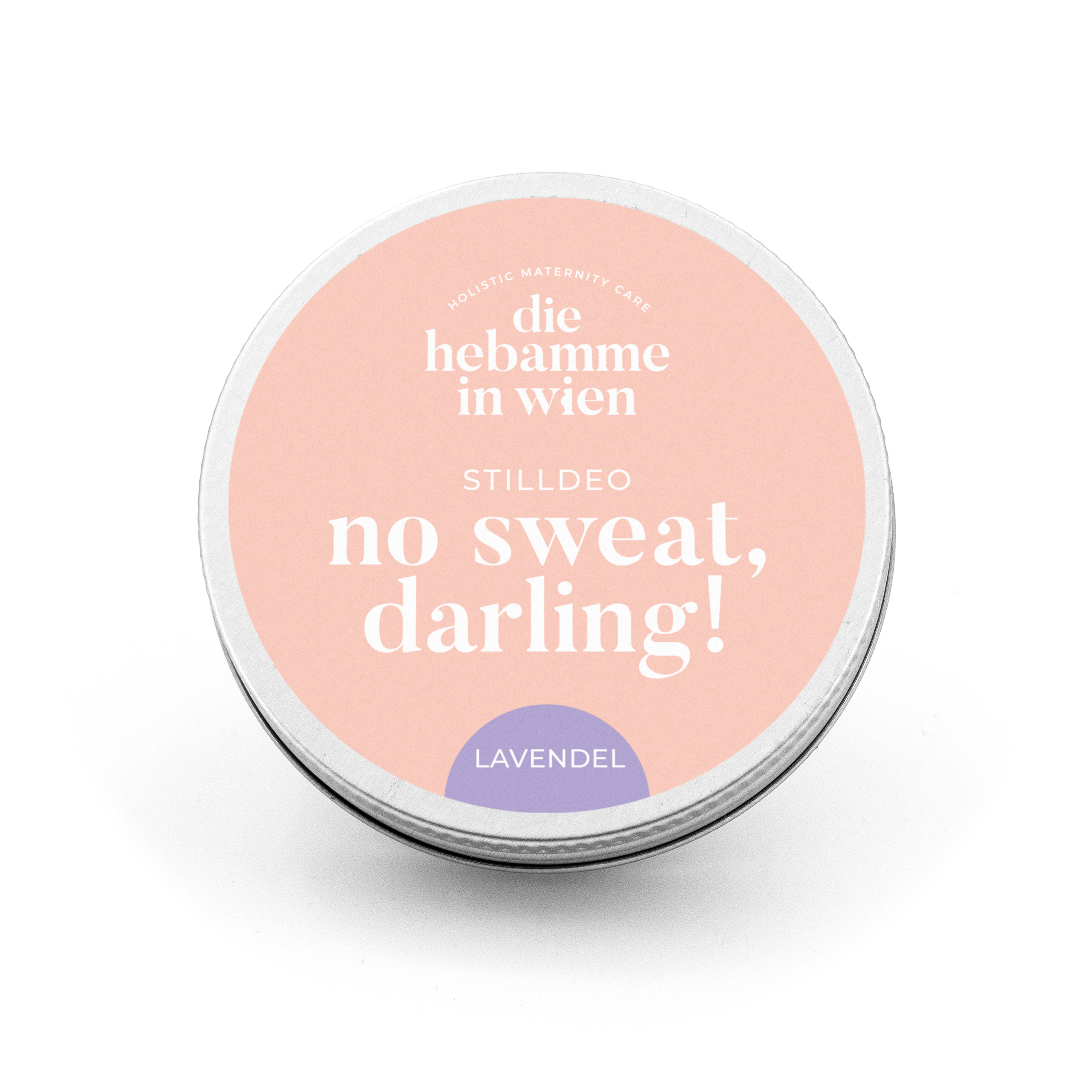 Stilldeo - Lavendel - no sweat, darling! - Deo Pure - die Hebamme in Wien
