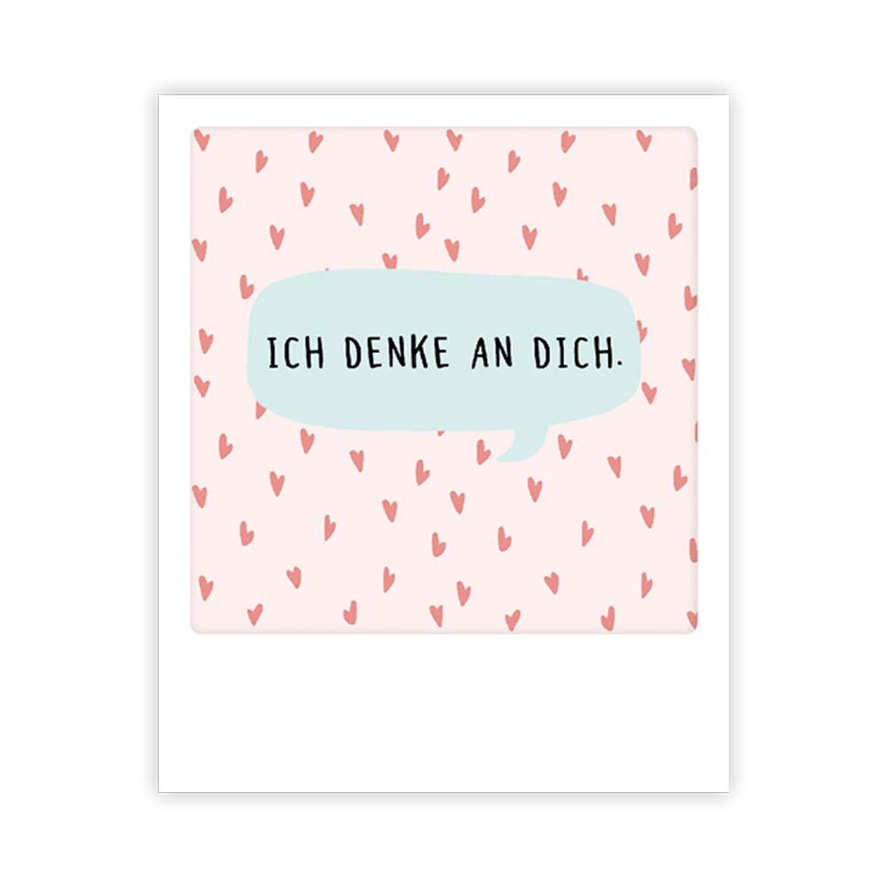 """Kleine-Postkarte """"Ich denk an Dich"""" - MP 0371 - DE - Pickmotion"""