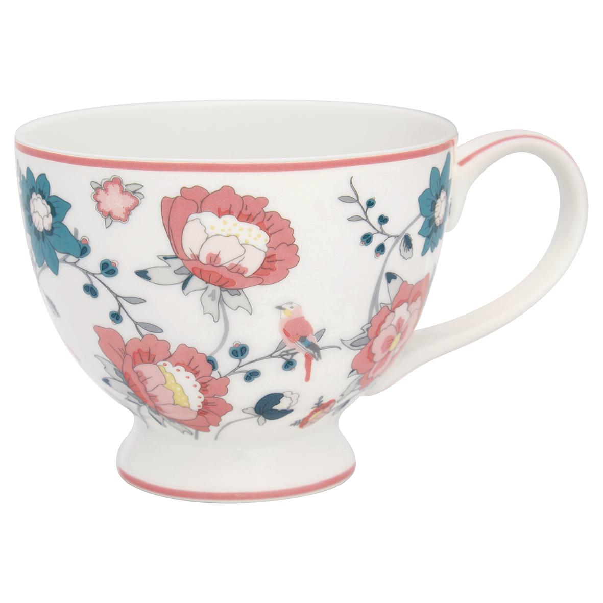 Teetasse mit Henkel - Sienna white - Greengate