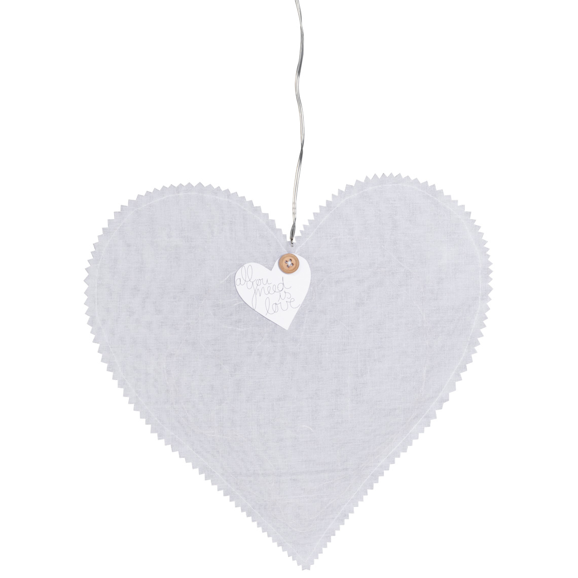 """Herzlicht """"All you need is love"""" - LED Lichterkette - räder"""